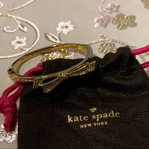 Kate Spade Bow Bracelet with Crystals
